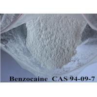 Buy cheap CAS 94-09-7 Pharmaceutical Raw Materials 99% High Purity Pain Killer Benzocaine from wholesalers