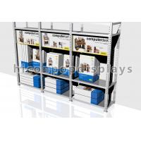 Buy cheap Heavy Duty Retail Gondola Shelving Units Flooring For Computer Desk from wholesalers