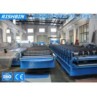 Buy cheap 13 Rows Galvanized Metal Floor Decking Roll Forming Machine for Structural Steel product