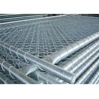 Buy cheap Outdoor Steel Wire Mesh Fence Galvanized Chain Link Fence Height 1.8mm from wholesalers