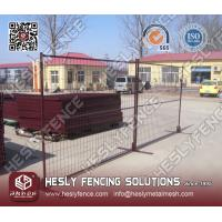 Buy cheap Canada Temporary Portable Fencing from wholesalers