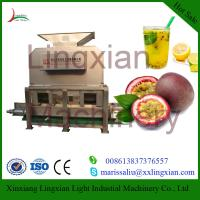 Buy cheap High Quality Passion Fruit Juice Extractor Machine with Low Price from wholesalers