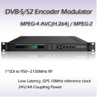 Buy cheap REM7001 SDI TO DVB-S/S2 Encoding Modulator Support BISS 1 BISS E Scrambling HD SDI Encoder from wholesalers
