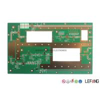 Buy cheap Rogers 2.0mm 3 OZ Copper PCB , Immersion Gold Copper Printed Circuit Board from wholesalers