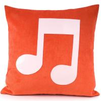 Buy cheap Red Or Brown Handmade Custom Printed Decorative Pillow For Home from Wholesalers