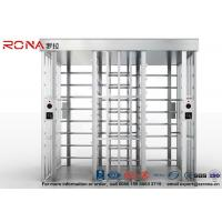 Buy cheap Double Lane Security Controlled Turnstile Security Gates Rapid Identification from wholesalers
