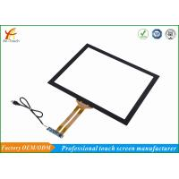 Buy cheap Highly Sensitive Capacitive Touchscreens Overlay Kit 86% Min Transmittance from wholesalers
