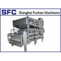 Buy cheap Industrial Sludge Thickening And Dewatering System , Sludge Dehydrator Machine from wholesalers