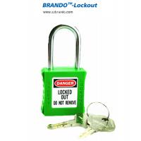 Buy cheap ABS body short steel shackle security padlocks with key system from wholesalers