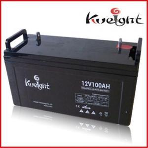 Buy cheap Deep cycle gel battery 12V 100Ah product