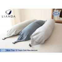 Buy cheap U Shape Memory Foam Pillows / Travel Microbead Neck Pillow With Lycra Cover from Wholesalers