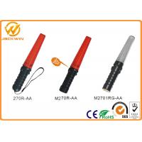 Buy cheap Multifunction Police Red LED Lights Battery Powered Traffic Safety Wand (L)26.5 * (DIA) 3.5 cm from wholesalers