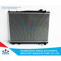 Buy cheap Nissan Terrano aluminum auto radiator High Performance with Tube - fin from wholesalers