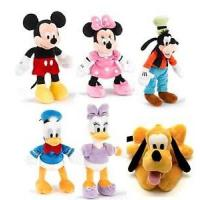 22cm Original Full Set Disney Plush Toys Disney Family Stuffed Animals