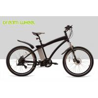 Buy cheap Aluminum Electric Mountain Bikes E Bicycle 26 Inch Black Red White High Performance from wholesalers