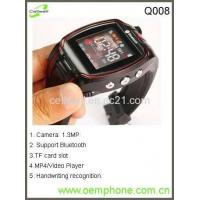 Buy cheap Q008GSM Original Unlocked Brand New Smart Watch Mobile Phone from wholesalers