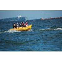 Buy cheap Tarpaulin Inflatable Banana Boat , Inflatable Water Games Fly Fish from wholesalers