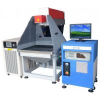 Buy cheap Leather / Cloth / Bamboo / Paper 3D Laser Marking Device 180 W from wholesalers