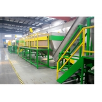 Buy cheap PE Drip Pipe CE 500kg / H Plastic Recycling Washing Machine from wholesalers