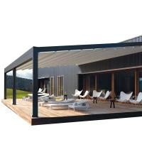 Buy cheap Waterproof PVC Retractable Patio Awning With Led Lights 3 - 5 Years Warranty from wholesalers