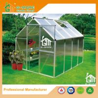 Buy cheap Low Cost Agriculture Walk in Aluminum Conservatory With Gutter - 258x195x185cm from wholesalers