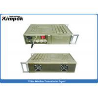 Buy cheap Vehicle Mounted COFDM HD Video Transmitter 100-200km Military Long Range RF Transmitter 20W RF from wholesalers