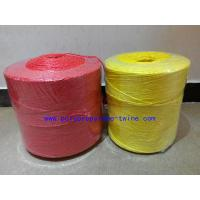 Buy cheap 3mm Twist Yellow Banana Twine , Agricultural Twine High Breaking Strength from wholesalers