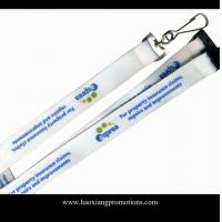 Buy cheap Decorative High Quality Polyester Custom Screen Print Lanyard/Neck lanyard/printed lanyard from wholesalers