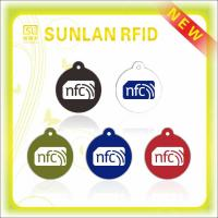 Buy cheap Plastic NFC Tag Printed UHF 860-960 Mhz Rfid Tag for Security Control from wholesalers