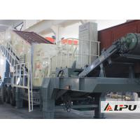 Buy cheap Portable Combined Mobile Stone Crusher Plant With Double - Axle Tyre from wholesalers