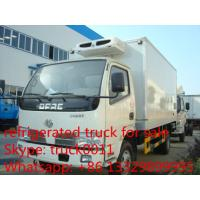Buy cheap HOT SALE! dongfeng 4ton refrigerated truck for fresh fruits and vegetables,best price dongfeng 4*2 RHD cold room truck from wholesalers