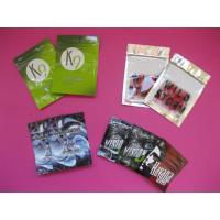 OEM Customized Herbal Incense Packaging Bags with Zip Lock