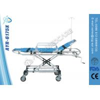 Buy cheap Adjustable Stainless Steel Bariatric Ambulance Stretcher With PU Cover Mattress from wholesalers