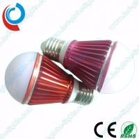 Buy cheap 560 - 680 Lumens Aluminum 6063 PC Cover 7W SMD LED Light Bulbs with Colored Housing from wholesalers