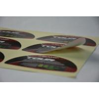Buy cheap Golf Waterproof Vinyl Label Stickers Strong Glue For Brand Protection from wholesalers