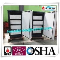 Fireproof 4 Drawer File Cabinet Safe Flammable Locker Magnetic Proof For CD