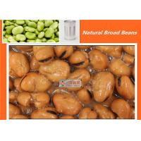 Buy cheap Salty Organic Canned Broad Beans 397g x 24 Canned Fava Beans Taste Delicious from wholesalers