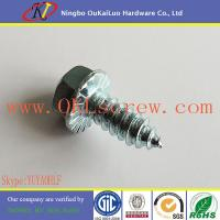 Buy cheap Serrated Hex Flange Head Self Tapping Sheet Metal Screws from wholesalers