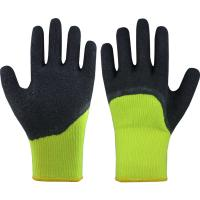 Quality winter use terry acrylic gloves for sale