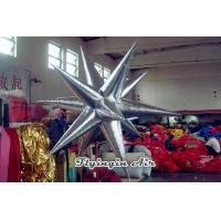 Buy cheap Shiny Silver Inflatable Star Inflatable Led Light for Conferences from wholesalers