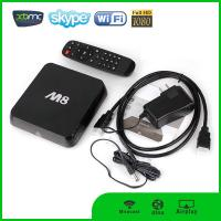 Buy cheap Promotional M8 tv box Kodi fully loaded quad core android tv box from wholesalers