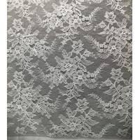 Buy cheap Flower Design Pattern Nylon Corded Jacquard Lace Fabric By The Yard from wholesalers