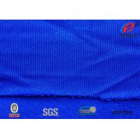 Buy cheap Royal Blue Warp Knitted Dazzle Polyester Sports Fabric For Basketball Uniform from wholesalers