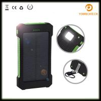 Buy cheap 2018 solar portable usb 8000mah Waterproof Slim Battery Instructions charger from wholesalers