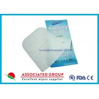 Buy cheap Wet Nonwoven Exfoliating Hand Gloves For Medical , Baby Wipe Gloves from wholesalers