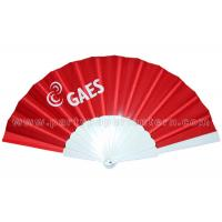Buy cheap Birthday Celebrations / Holiday Parties Hand Held Fabric Fan Decorative product