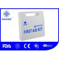 Buy cheap 50 Person Holiday Medical Kit , ANSI Standard Field First Aid Kit Rescue Box from wholesalers