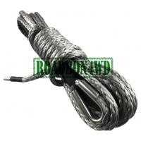 Buy cheap 12 strand blue synthetic atv/utv winch cable/rope for tractor tug winch lines from wholesalers