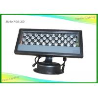 Buy cheap DMX512 Waterproof Rgb Wall Washer Led Lights Wide Beam Angle Mixing Colors 36pcs from wholesalers