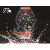 Buy cheap vintga style watch men wrist watch business and sport  watch with  pu band from wholesalers